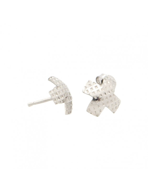 Silver Stud Earrings KREUZ II