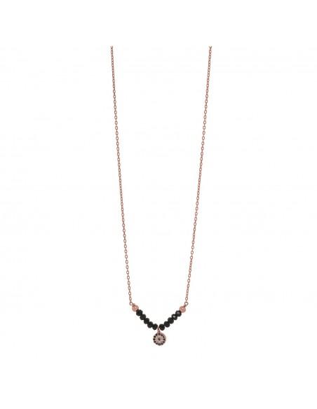 Nazar Halskette Silber 925 rose gold KARI
