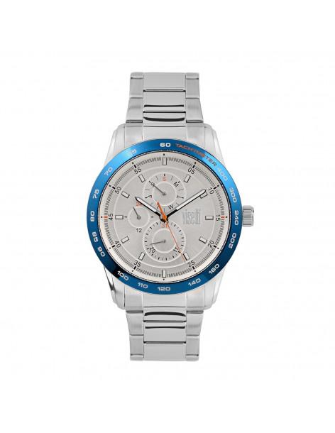 Ρολόι ανδρικό VISETTI Maverick PE684SC με μπρασελέ ατσάλι