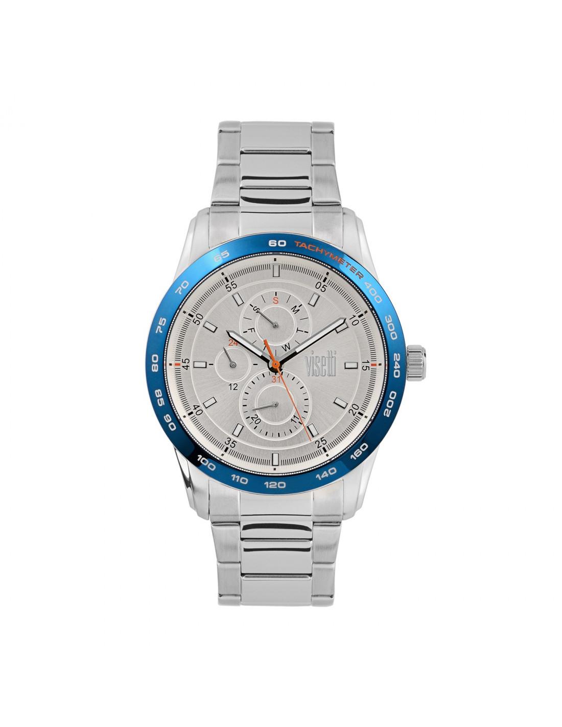 Men s wrist watch VISETTI Maverick PE684SC with stainless steel band b3732456949