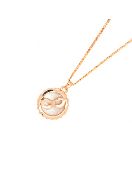Necklace rose gold BARTOO