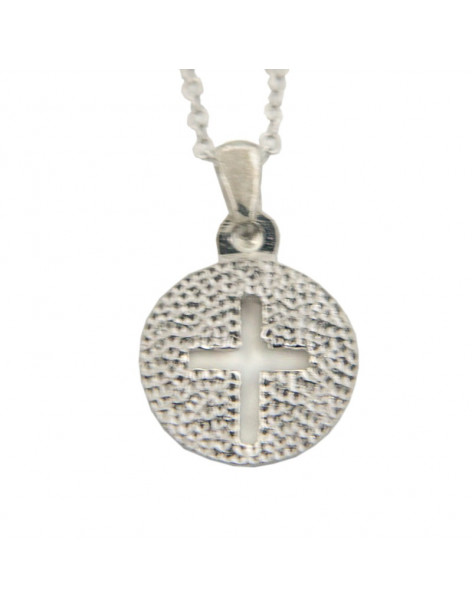 Cross Necklace of Sterling Silver ALISA