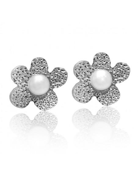 Perlen Ohrstecker aus 925 Silber LOFOI