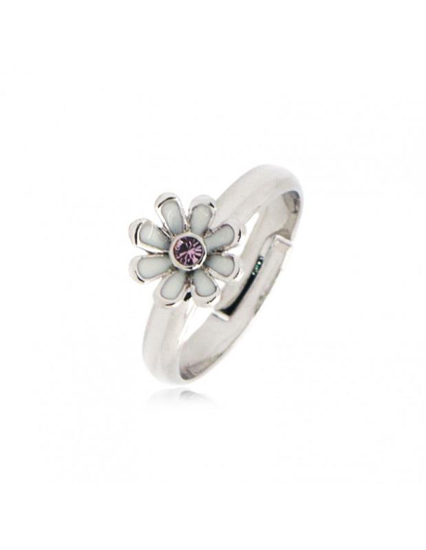 Γυναικείο δαχτυλίδι από κράμα μετάλλου ασημί GLADI
