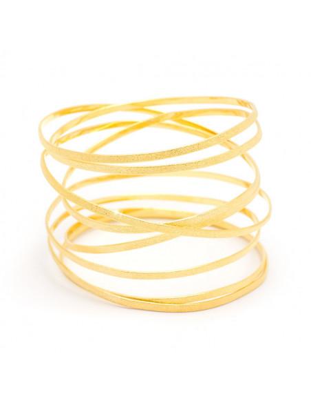 Grecian Designer bracelet gold VARKOULES 3