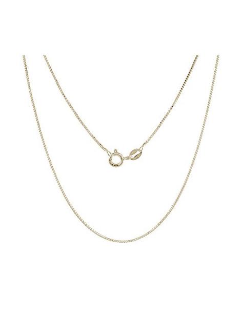 Silver chain 40cm gold plated VENI