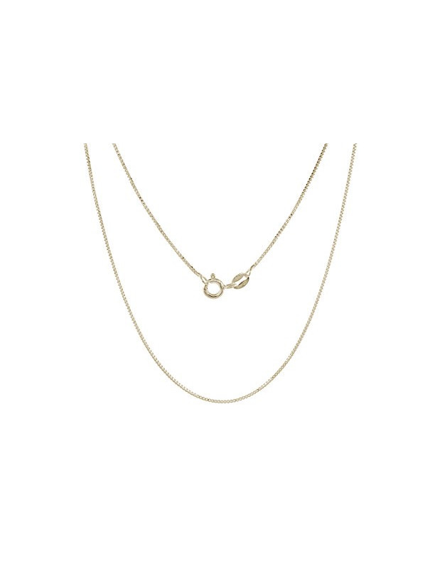 Silver chain 40cm gold plated VENI