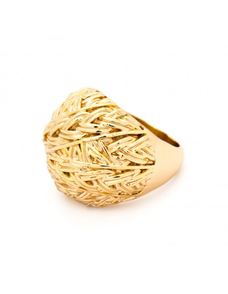 "RING ROSE GOLD PLATED ""ALONSO"""