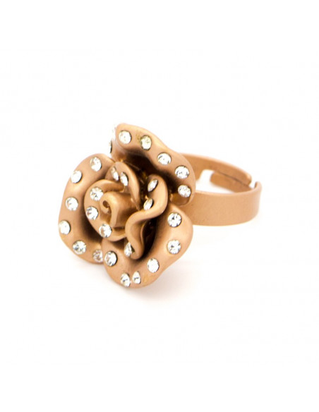 RING ROSE GOLD PLATED
