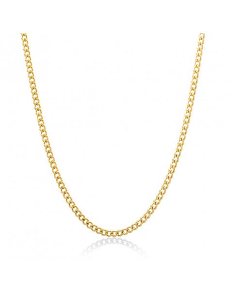 Halskette Unisex aus Edelstahl 55 cm gold SETE