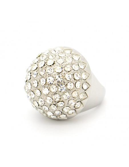 Δαχτυλίδι με ζιργκόν ασημί GLAMOUR 3