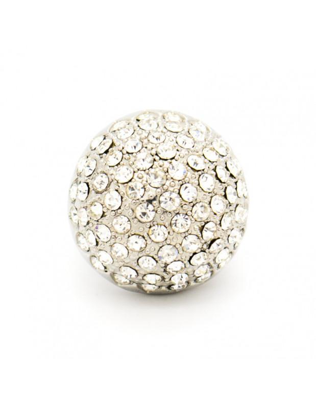 Δαχτυλίδι με ζιργκόν ασημί GLAMOUR