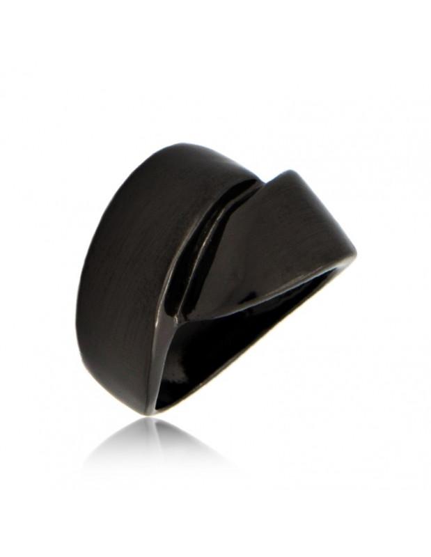 Δαχτυλίδι μαύρο KLOSTI