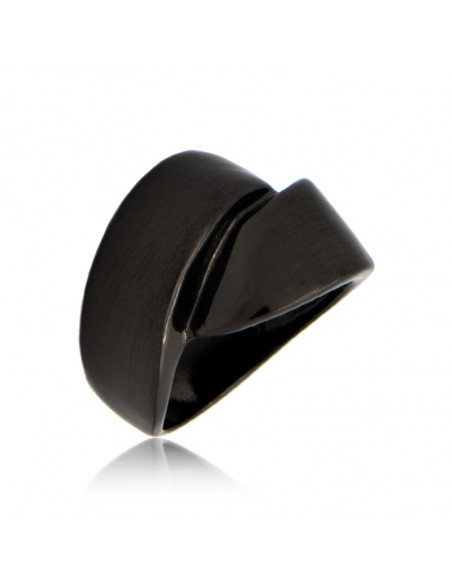 Ring black KLOSTI