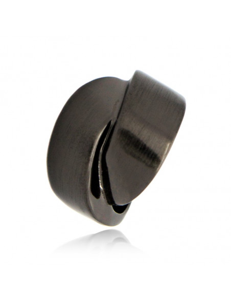 Δαχτυλίδι μαύρο KLOSTI 2