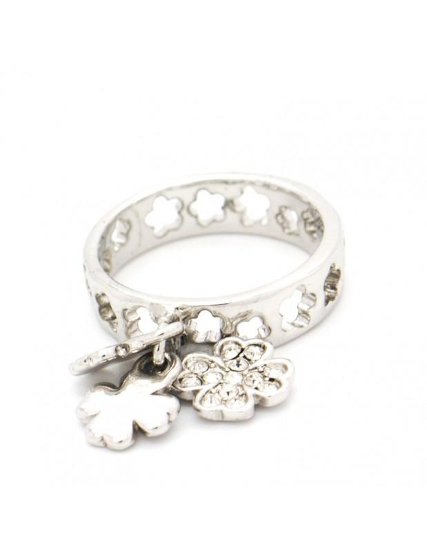 Δαχτυλίδι με κρεμαστά ασημί MIRA
