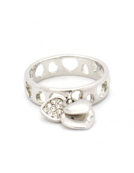 Δαχτυλίδι με κρεμαστά ασημί DALIA