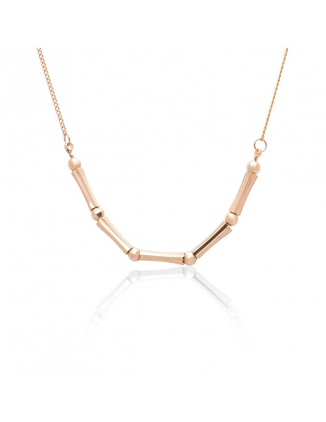 Necklace rose gold plated CORD