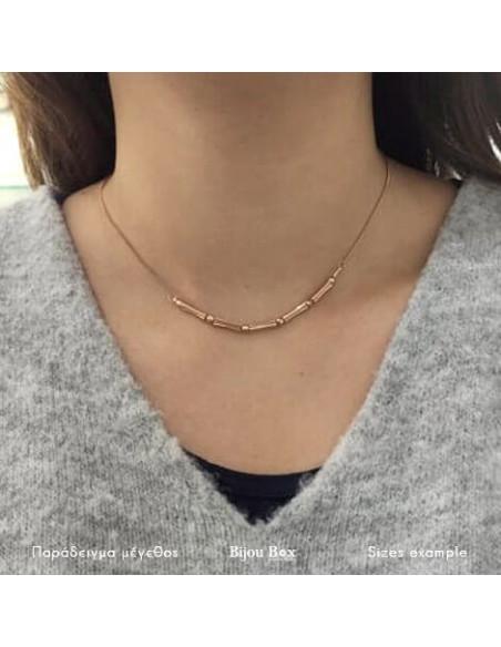 Halskette rosé gold vergoldet CORD 3