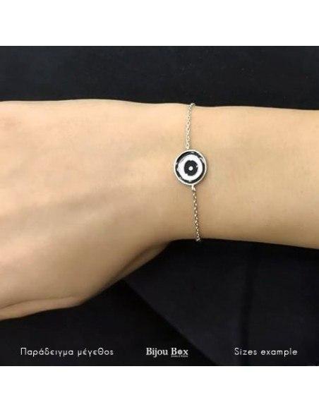 Nazar Armband aus Silber 925 ROMA 2