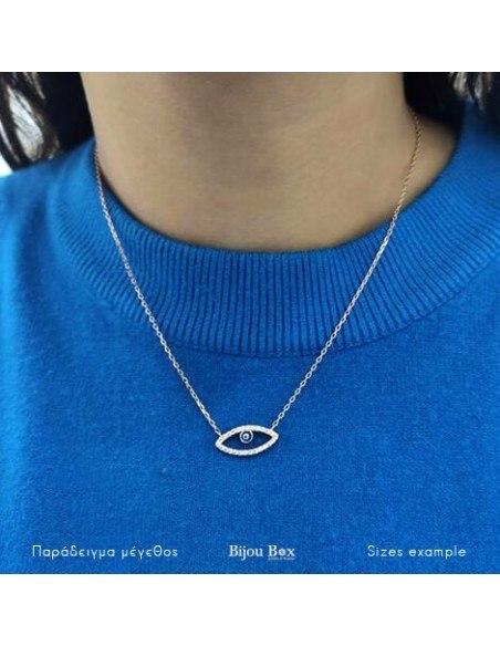 Halskette mit Nazar Silber 925 rose gold NAXOS 2