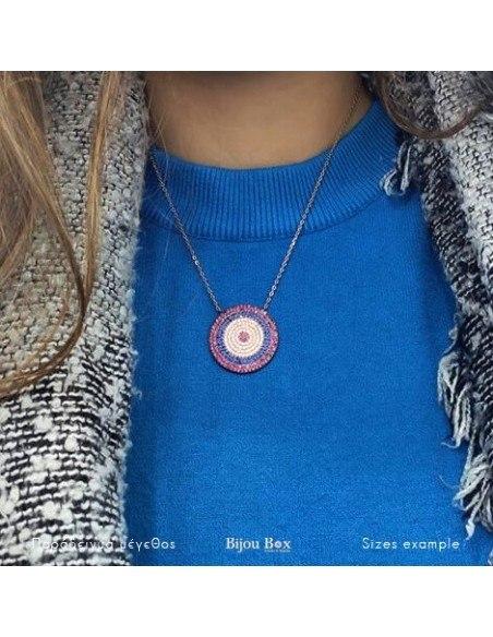 Nazar Halskette aus 925 Silber rose gold CAMI 2