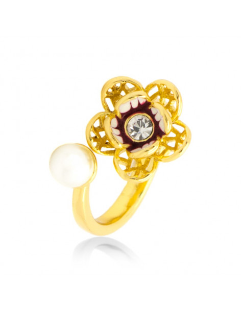 "RING GOLD PLATED ""NAIRA"""