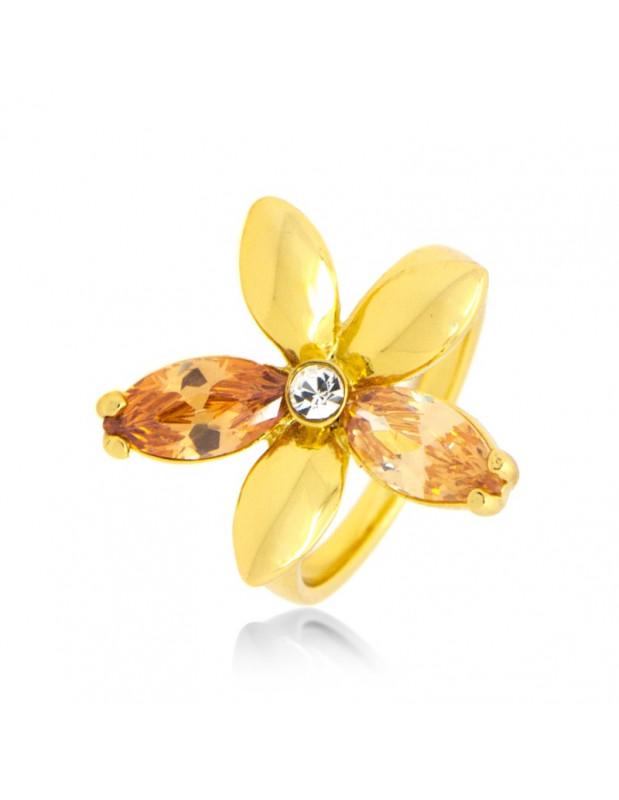 Δαχτυλίδι με ζιργκόν χρυσό JADE