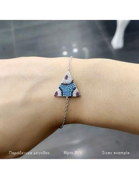 Armband aus 925 Silber TRIANGLE 2