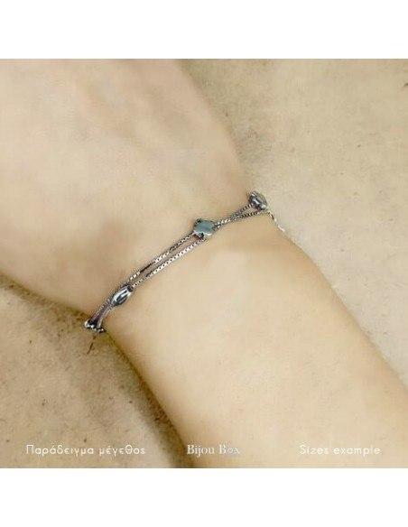Armband aus 925 Silber DOUBLE 2