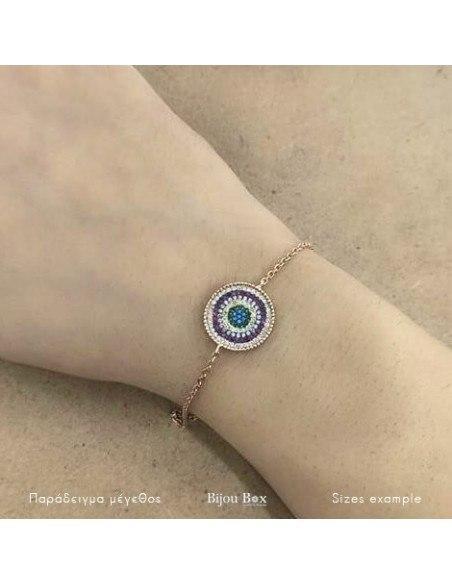 Nazar Armband aus Silber 925 rosé vergoldet A20140791 2