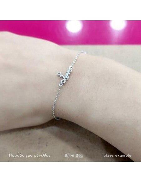 Silver bracelet LOVE A20140819 2