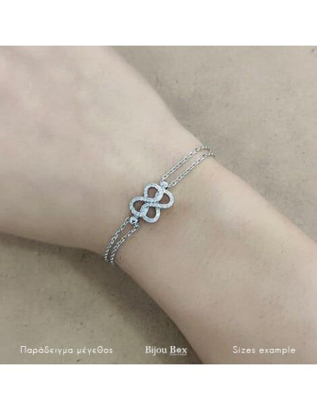 Armband Infinity aus Silber 925 EMELY 2