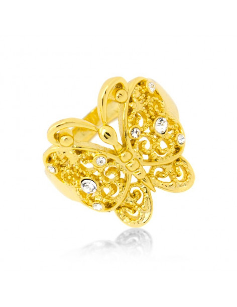 "RING GOLD PLATED ""SENA"""