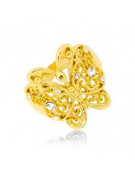Δαχτυλίδι με ζιργκόν χειροποίητα χρυσό SENA