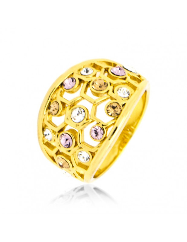 "RING GOLD PLATED ""ZARA"""