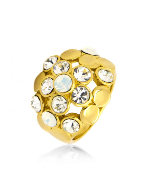 "RING GOLD PLATED ""LOLI"""