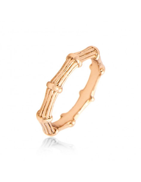 "RING ROSE GOLD PLATED ""ARRA"""