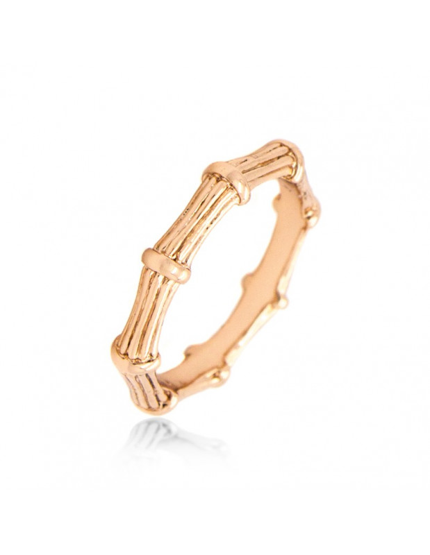 """RING ROSE GOLD PLATED """"ARRA"""""""