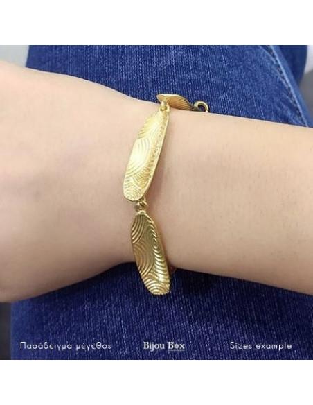 Grecian Designer bracelet gold HERB 2