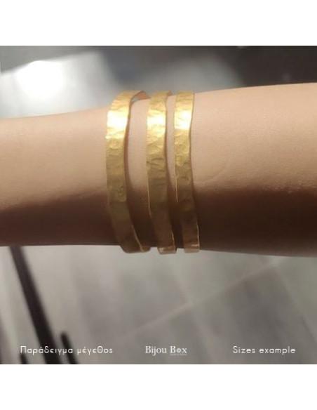 Griechischer Designer Armreif gold PRINT 2