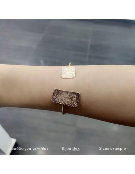 Bangle bracelet rose gold PILOTA 2
