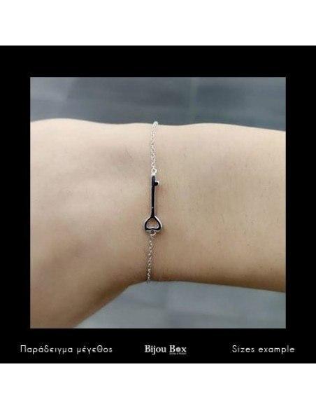Armband aus 925 Silber KEY 2