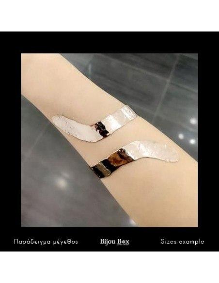 Greek designer bangle bracelet rose gold HERMES 2