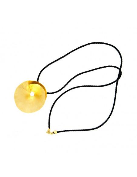 Μακρύ Κολιέ από μπρούτζο χειροποίητο χρυσό EROP 3