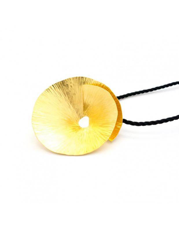 Halskette aus Bronze handgefertigt gold EROP