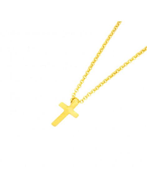 Κολιέ με σταυρός χρυσό STAYRO