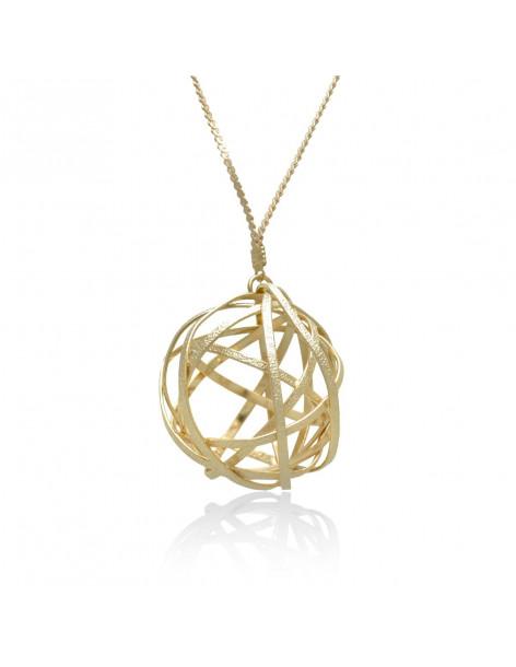 Lange Statement Halskette rosegold TOULON