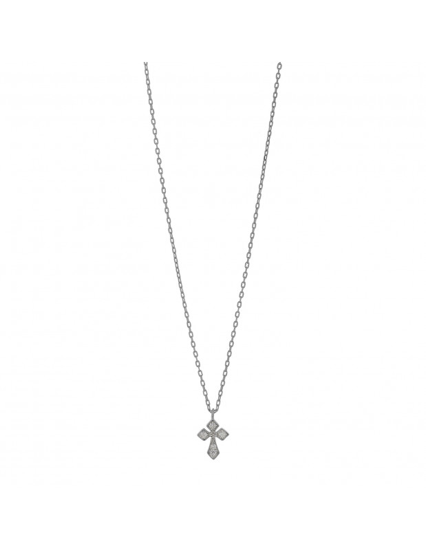 Kreuzkette aus 925 Silber RILION