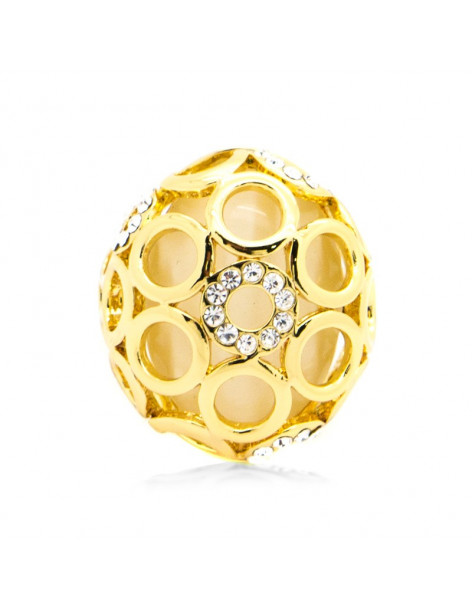 Ring gold plated ROUND